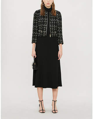 Ted Baker Metallic boucle jacket