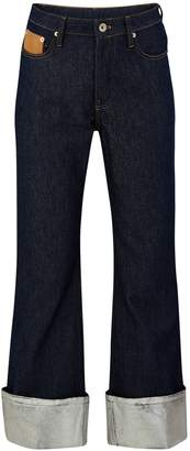 Paco Rabanne Turn-up jeans