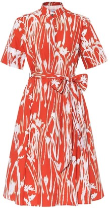 Salvatore Ferragamo Printed cotton dress