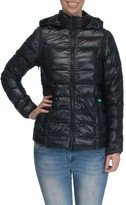 Women's Modern Eternity Lightweight Puffer Convertible Maternity Jacket