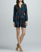 Dolce Vita Tuffa Printed Silk Dress