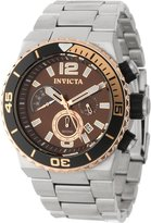 Invicta Men's 12997 Pro Diver Chronograph Dial Stainless Steel Watch