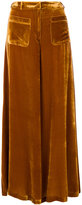 Vivetta - flared trousers - women - Viscose/Silk - 40
