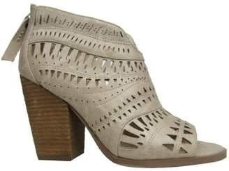 Not Rated Cream Lasercut Booties