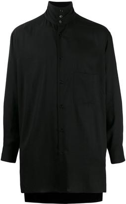 Yohji Yamamoto Stand-Up Collar Shirt