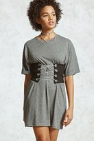 Forever 21 Heathered T-Shirt Dress