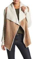 Romeo & Juliet Couture Faux Fur Trim Jacket