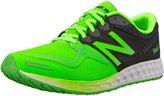 New Balance Men's M1980V1 Fresh Foam Zante Running Shoe, Green/Black