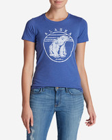 Eddie Bauer Women's Graphic T-Shirt - Polar Bear