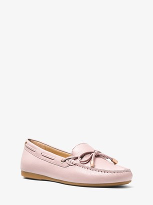 MICHAEL Michael Kors Sutton Leather Moccasin
