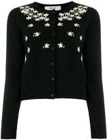 Blugirl daisy embroidered cardigan