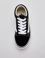 Vans Old Skool Junior Platform Trainers - Black