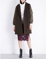 Sandro Lazarus wool-blend coat