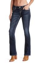 Miss Me Flap Pocket Boot Cut Jean