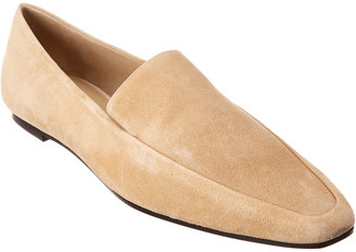 The Row Minimal Suede Loafer