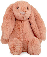 Jellycat Medium Bashful Bunny Plush Animal, Peach