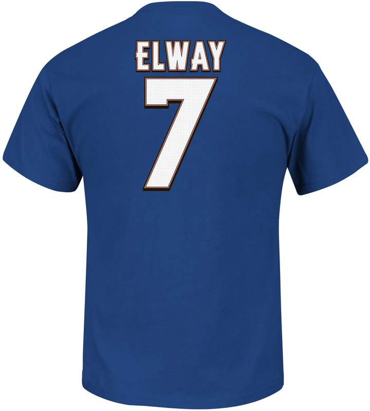 Majestic Big & Tall Denver Broncos John Elway Hall of Fame Eligible Receiver Tee