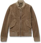 Aspesi Cotton-Corduroy Bomber Jacket