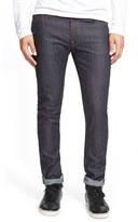 Nudie Jeans Men's 'Lean Dean' Slouchy Slim Fit Raw Jeans