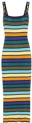 Solid & Striped Striped maxi dress