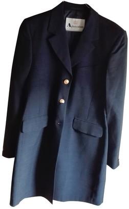 Aquascutum London Blue Coat for Women
