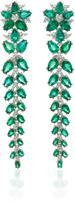 Paul Morelli Verde Fern Drop Earrings