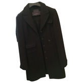Miu Miu Black Wool Coat