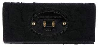 Alexander McQueen Leather-Trimmed Ponyhair Wallet