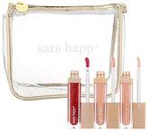 Sara Happ 3 one Luxe Lip Slips with Bag