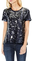 Vince Camuto Women's Sequin Knit Tee
