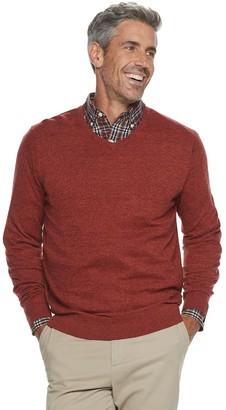 Croft & Barrow Men's Easy Care V-neck Sweater