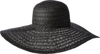 Ale By Alessandra Women's Chantilly Lace Weave Toyo Floppy Hat