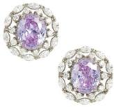 Nina Women's Estate Button Earrings
