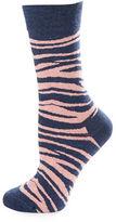 Happy Socks Zebra Crew Socks