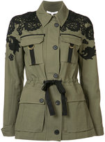 Veronica Beard drawstring fitted jacket