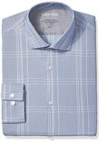 Calvin Klein Men's Xtreme Slim Fit Plaid Shirt
