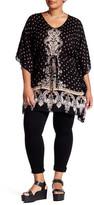 Angie Printed Kaftan Dress (Plus Size)