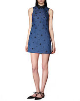 Cynthia Rowley Embellished Shift Dress
