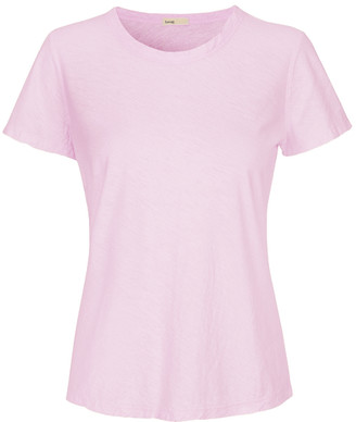 Levete Room - Soft Pink Round Neck T Shirt - XL - Pink