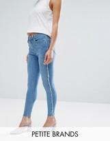 New Look Petite Rip Skinny Jean