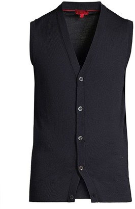 Isaia Merino Wool Knit Vest