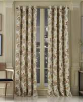 "J Queen New York Vancouver Blackout 50"" x 84"" Grommet Curtain Panel"