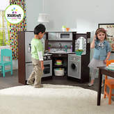 Kid Kraft Ultimate Corner Play Kitchen with Lights and Sounds