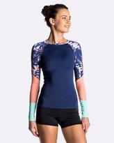Roxy Womens Keep It Long Sleeve Rash Vest
