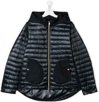 Herno TEEN hooded padded jacket