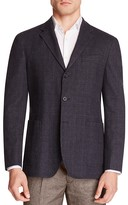 Hardy Amies Plaid Slim Fit Sport Coat
