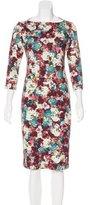 Erdem Floral Print Dress w/ Tags