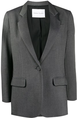 Hebe Studio Single-Breasted Blazer