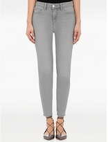 L'Agence The Margot High Rise Ankle Skinny In Gris