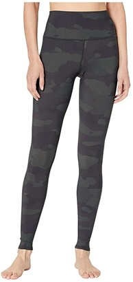 Alo High-Waist Vapor Leggings (Hunter Camouflage) Women's Casual Pants